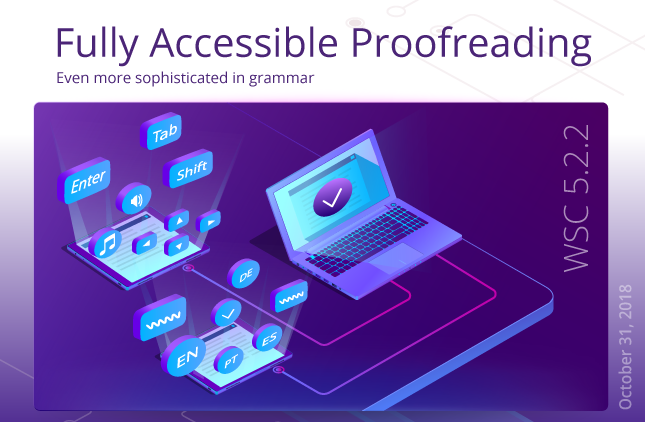 WebSpellChecker 5.2.2 is Released: Fully Accessible Proofreading!