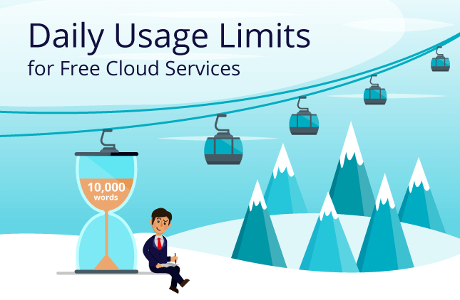 Announcement: Daily Usage Limits for Free Cloud Services