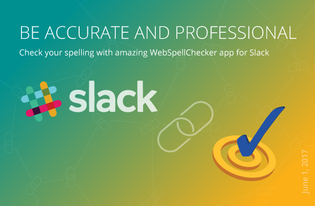 WebSpellChecker application for Slack