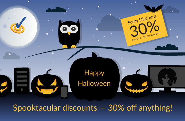 WebSpellChecker Spooktacular Discounts. 30% OFF Anything!