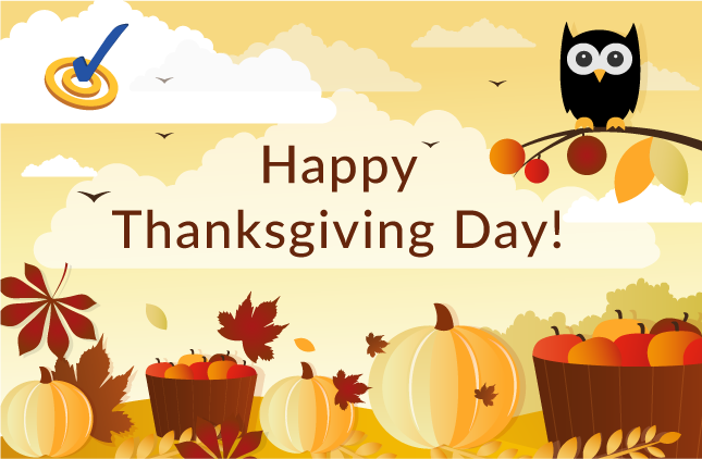 WebSpellChecker: Happy Thanksgiving Day!