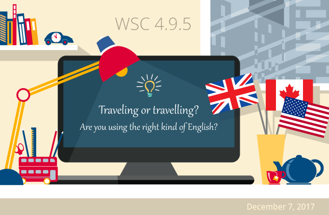 WebSpellChecker 4.9.5: Are you using the right kind of English?