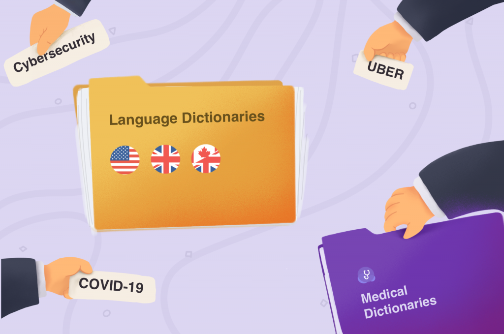 Updated WebSpellChecker dictionaries